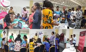 Les sages femmes dans plusieurs ateliers pour aboutir à des solutions innovantes